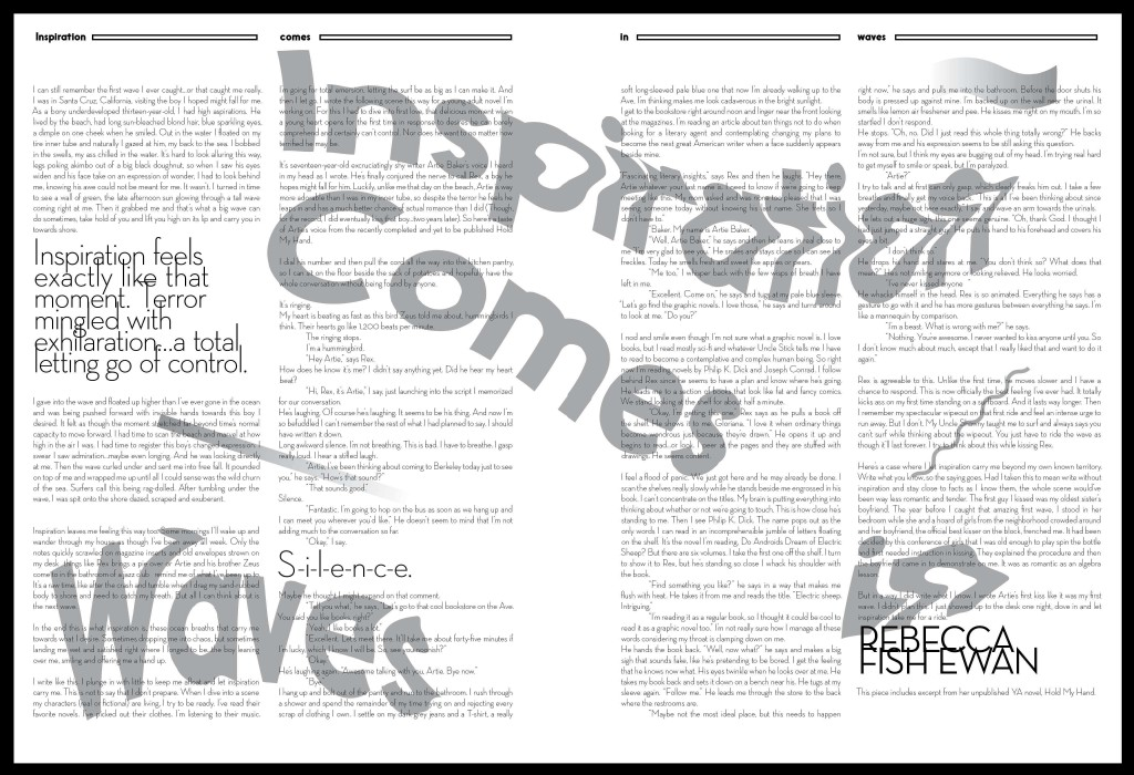 inspiration comes in waves compostite